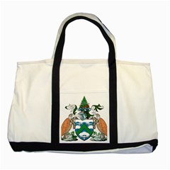 Coat Of Arms Of Ascension Island Two Tone Tote Bag