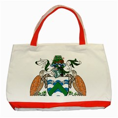 Coat Of Arms Of Ascension Island Classic Tote Bag (red)