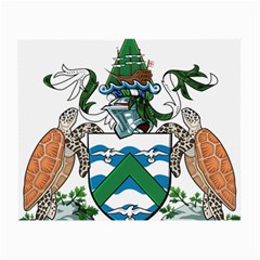 Coat Of Arms Of Ascension Island Small Glasses Cloth (2 Side)