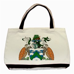 Coat Of Arms Of Ascension Island Basic Tote Bag (two Sides)