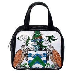 Coat Of Arms Of Ascension Island Classic Handbags (one Side)