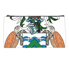 Coat Of Arms Of Ascension Island Pencil Cases by abbeyz71