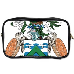 Coat Of Arms Of Ascension Island Toiletries Bags 2 Side