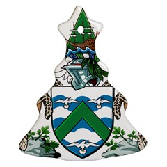 Coat Of Arms Of Ascension Island Christmas Tree Ornament (two Sides) by abbeyz71