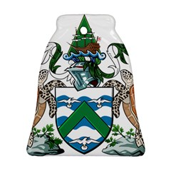 Coat Of Arms Of Ascension Island Bell Ornament (two Sides)