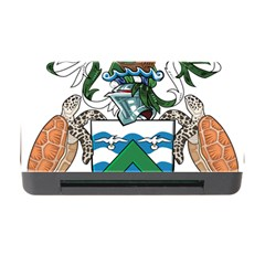 Coat Of Arms Of Ascension Island Memory Card Reader With Cf