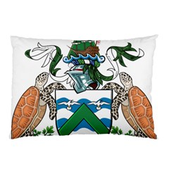 Coat Of Arms Of Ascension Island Pillow Case (two Sides)