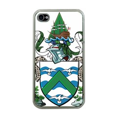 Coat Of Arms Of Ascension Island Apple Iphone 4 Case (clear)