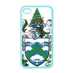Coat Of Arms Of Ascension Island Apple Iphone 4 Case (color)