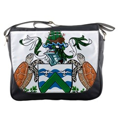 Coat Of Arms Of Ascension Island Messenger Bags