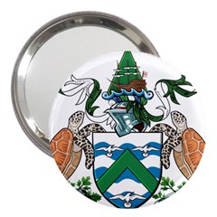 Coat Of Arms Of Ascension Island 3  Handbag Mirrors