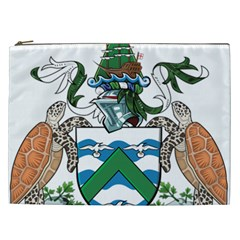 Coat Of Arms Of Ascension Island Cosmetic Bag (xxl)