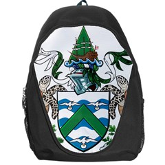 Coat Of Arms Of Ascension Island Backpack Bag