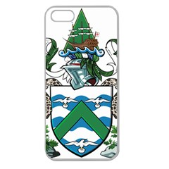 Coat Of Arms Of Ascension Island Apple Seamless Iphone 5 Case (clear)