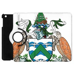 Coat Of Arms Of Ascension Island Apple Ipad Mini Flip 360 Case