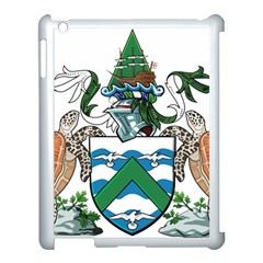 Coat Of Arms Of Ascension Island Apple Ipad 3/4 Case (white)