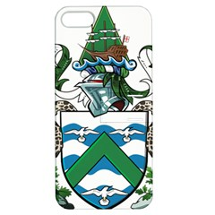 Coat Of Arms Of Ascension Island Apple Iphone 5 Hardshell Case With Stand