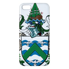 Coat Of Arms Of Ascension Island Apple Iphone 5 Premium Hardshell Case