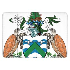 Coat Of Arms Of Ascension Island Samsung Galaxy Tab 8 9  P7300 Flip Case