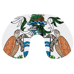 Coat Of Arms Of Ascension Island Travel Neck Pillows