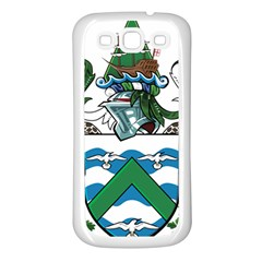 Coat Of Arms Of Ascension Island Samsung Galaxy S3 Back Case (white)