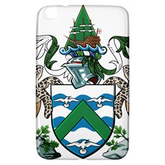 Coat Of Arms Of Ascension Island Samsung Galaxy Tab 3 (8 ) T3100 Hardshell Case