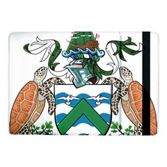 Coat Of Arms Of Ascension Island Samsung Galaxy Tab Pro 10 1  Flip Case