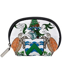 Coat Of Arms Of Ascension Island Accessory Pouches (small)