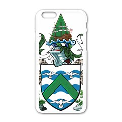 Coat Of Arms Of Ascension Island Apple Iphone 6/6s White Enamel Case