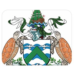 Coat Of Arms Of Ascension Island Double Sided Flano Blanket (medium)