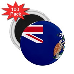 Flag Of Ascension Island 2 25  Magnets (100 Pack)  by abbeyz71