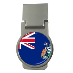 Flag Of Ascension Island Money Clips (round)  by abbeyz71