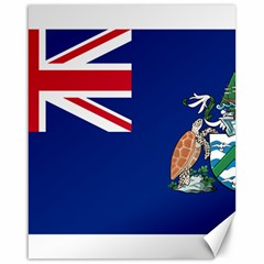 Flag Of Ascension Island Canvas 16  X 20   by abbeyz71