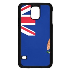 Flag Of Ascension Island Samsung Galaxy S5 Case (black) by abbeyz71