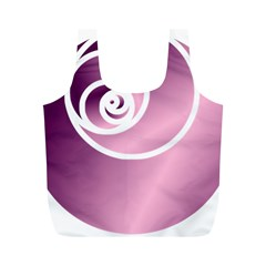 Rose Full Print Recycle Bags (m)  by Jylart