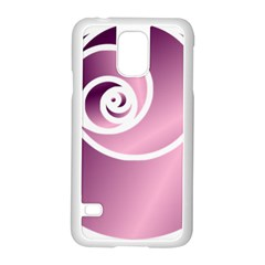 Rose Samsung Galaxy S5 Case (white) by Jylart