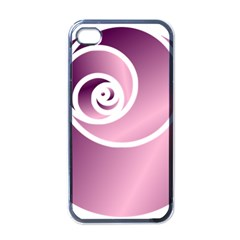 Rose  Apple Iphone 4 Case (black) by Jylart