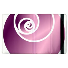 Rose  Apple Ipad 3/4 Flip Case by Jylart