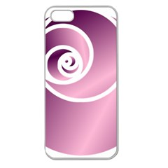 Rose  Apple Seamless Iphone 5 Case (clear) by Jylart