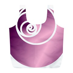 Rose  Full Print Recycle Bags (l)  by Jylart