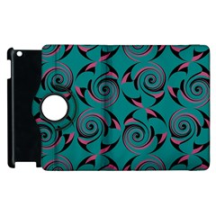 Spirals Apple Ipad 3/4 Flip 360 Case by Jylart