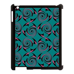Spirals Apple Ipad 3/4 Case (black) by Jylart