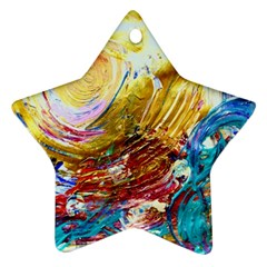 June Gloom 10 Ornament (star) by bestdesignintheworld