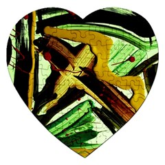 Grave Yard 4 Jigsaw Puzzle (heart) by bestdesignintheworld