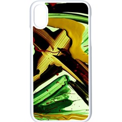 Grave Yard 4 Apple Iphone X Seamless Case (white) by bestdesignintheworld