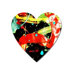 Enigma 2 Heart Magnet by bestdesignintheworld