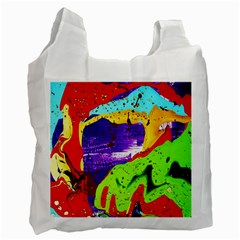 Untitled Island 2 Recycle Bag (one Side) by bestdesignintheworld