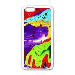 Untitled Island 2 Apple Iphone 6/6s White Enamel Case by bestdesignintheworld