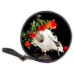 Animal Skull With A Wreath Of Wild Flower Classic 20 Cd Wallet by igorsin