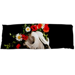 Animal Skull With A Wreath Of Wild Flower Body Pillow Case Dakimakura (two Sides) by igorsin